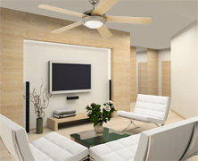 Energy efficient ceiling fan energy star rated ceiling fans - Westinghouse and living ...