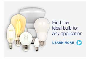 Find the ideal bulb for any application - LEARN MORE