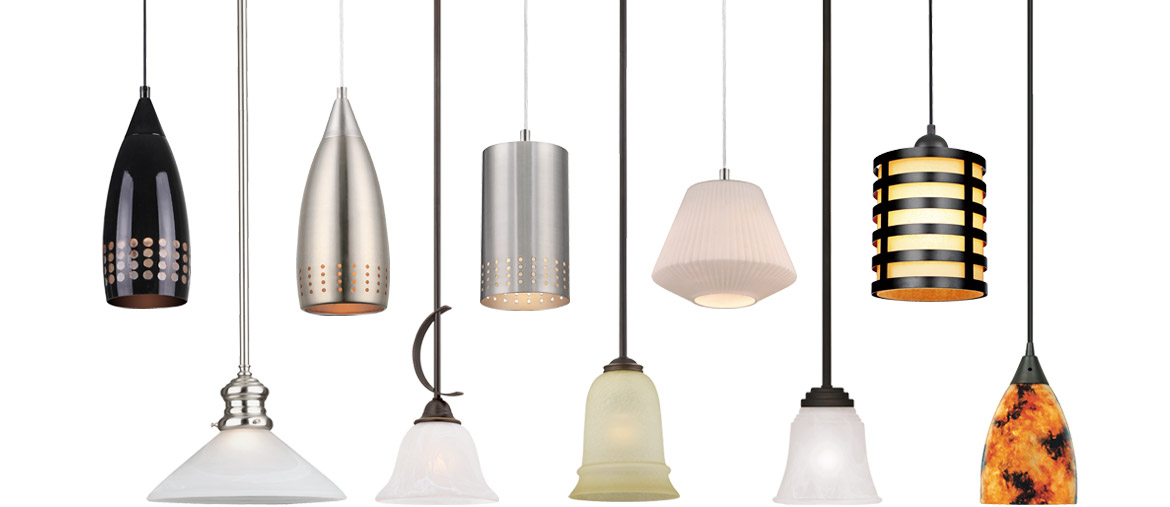 Inspire Easy Upgrades. Bring out the designer in you. Choose from a variety of complete mini pendants to add a touch of flair to any décor.