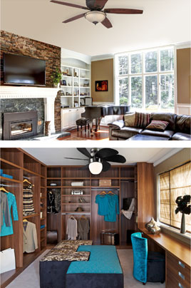 The best fan choice for your room low ceilings aloadofball Images