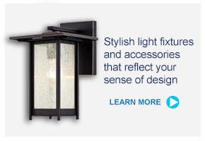 Stylish light fixtures and accessories that reflect your sense of design - LEARN MORE --&gr;