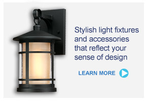 Stylish light fixtures and accessories that reflect your sense of design