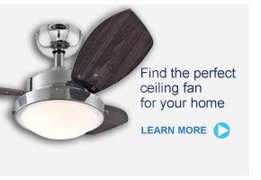 Find the perfect ceiling fan for your home