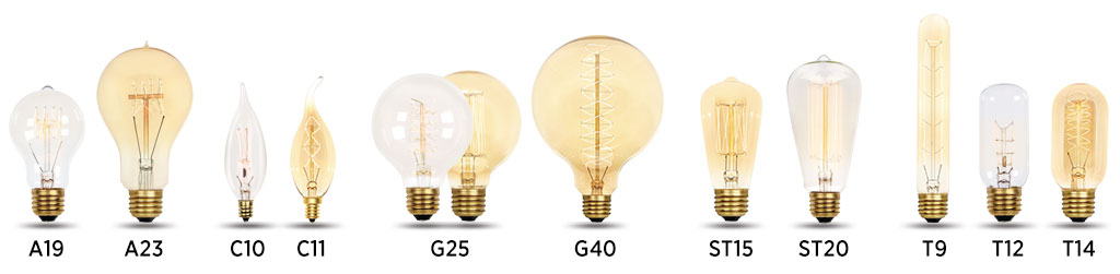 retro lamp looks like bulb