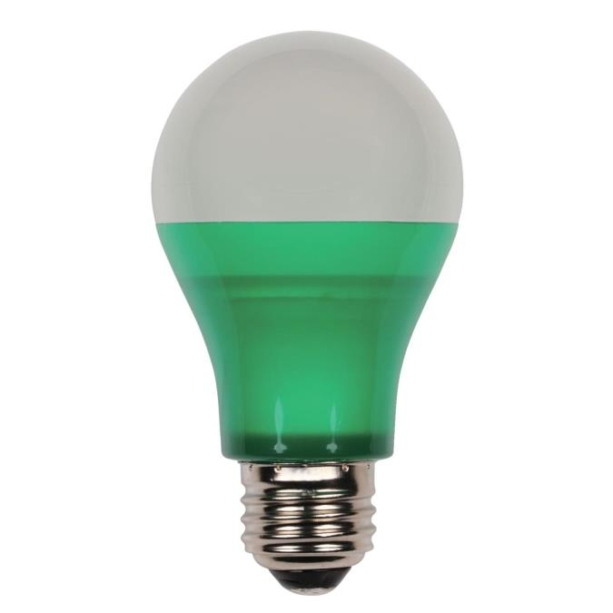 westinghouse omni a19 6 watt 40 watt equivalent medium base green led party bulb. Black Bedroom Furniture Sets. Home Design Ideas
