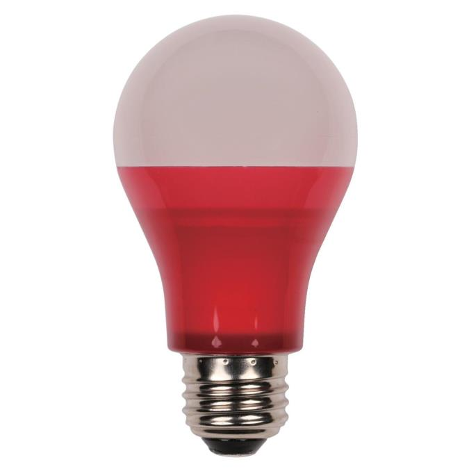 westinghouse omni a19 5 watt 40 watt equivalent medium base red led party bulb. Black Bedroom Furniture Sets. Home Design Ideas
