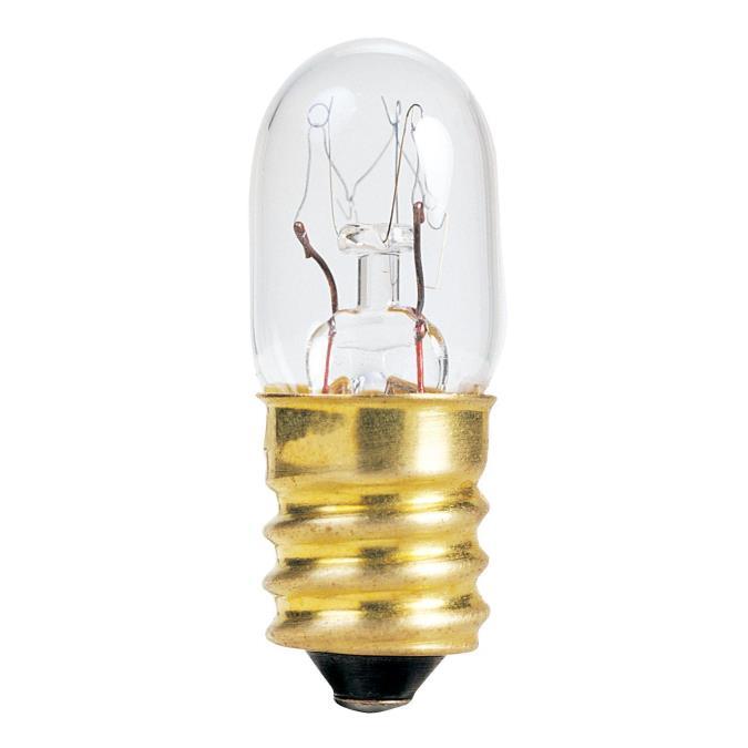 Westinghouse T4 15 Watt Candelabra Base Incandescent Lamp
