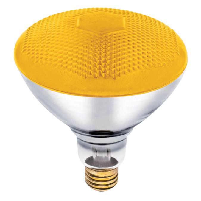 Westinghouse Br38 100 Watt Medium Base Yellow Incandescent Lamp