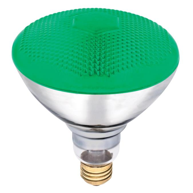 westinghouse br38 100 watt medium base green incandescent lamp. Black Bedroom Furniture Sets. Home Design Ideas