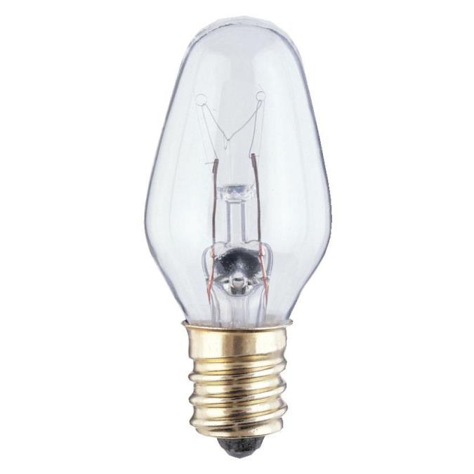 Westinghouse C7 4 Watt Candelabra Base Incandescent Lamp