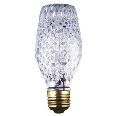 43 Watt SL19 Eco-Halogen Cut Glass Light Bulb