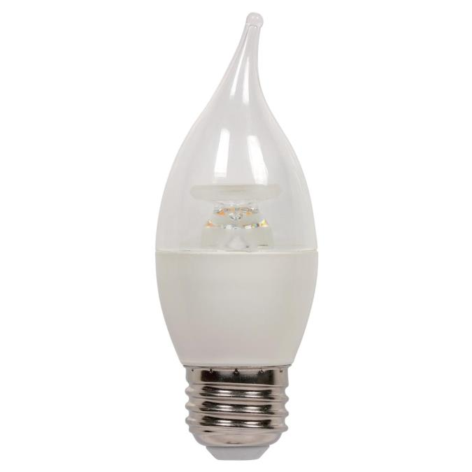 westinghouse c13 7 watt 60 watt equivalent medium base soft white led lamp. Black Bedroom Furniture Sets. Home Design Ideas