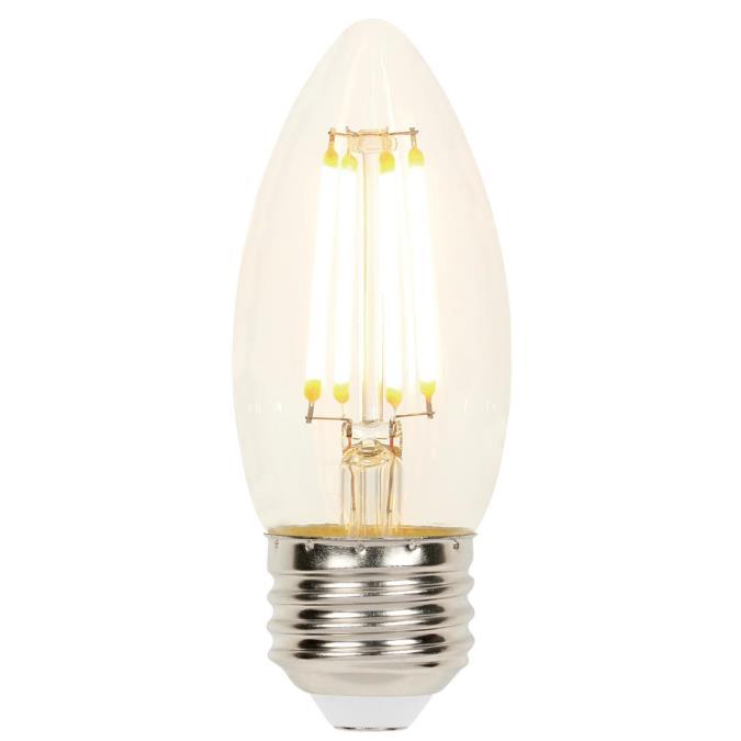 Westinghouse B11 4 5 Watt 60 Watt Equivalent Medium Base Clear Dimmable Filament Led Lamp