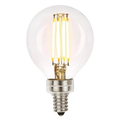 6 Watt (60 Watt Equivalent) G16-1/2 Dimmable Filament LED Light Bulb