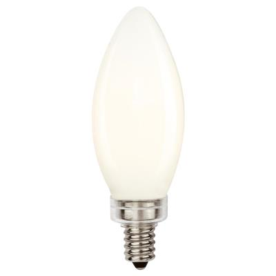 6 Watt (60 Watt Equivalent) B11 Dimmable Filament LED Light Bulb