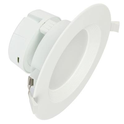 9 Watt (65 Watt Equivalent) 6-Inch Dimmable Direct Wire Recessed LED Downlight, ENERGY STAR