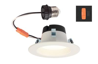 6.5 Watt (65 Watt Equivalent) 4-Inch Dimmable Recessed LED Downlight with Color Temperature Selection, ENERGY STAR