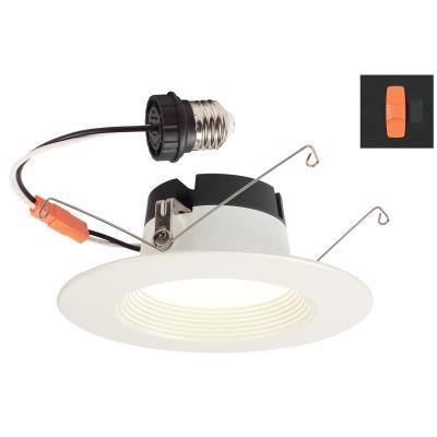 11 Watt (80 Watt Equivalent) 5-6-Inch Dimmable Color Choice Recessed LED Downlight, ENERGY STAR