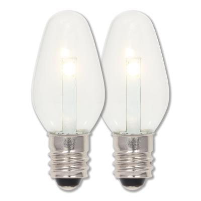 0.75 Watt (7 Watt Equivalent) C7 LED Light Bulb