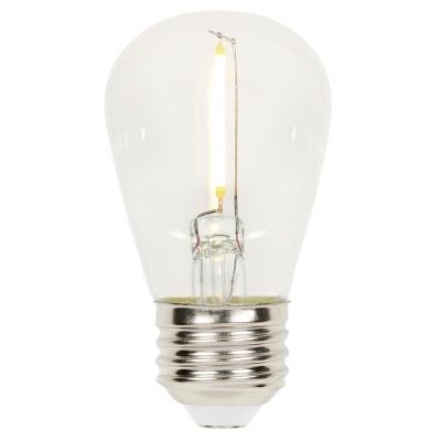 1.2 Watt (15 Watt Equivalent) S14 LED Light Bulb