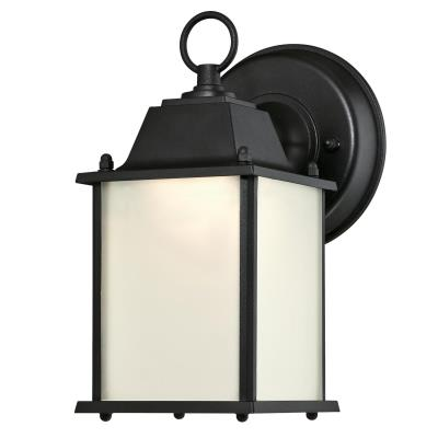 One-Light LED Outdoor Wall Fixture, ENERGY STAR
