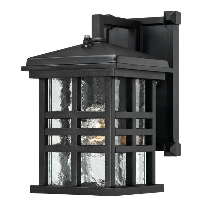 westinghouse one light outdoor wall lantern with dusk to sensor