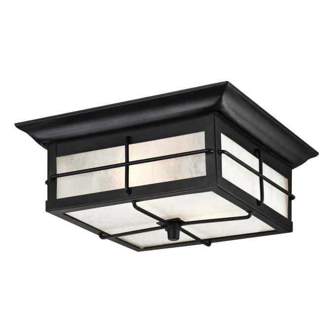 Westinghouse orwell two light outdoor flush mount fixture - Exterior surface mounted light fixtures ...