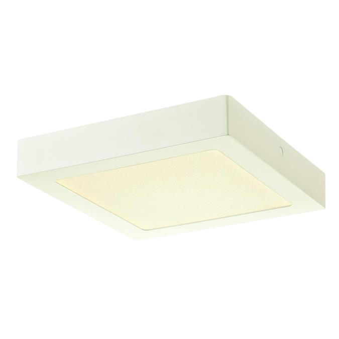 Square Light Fixtures: Westinghouse 8-7/8-Inch Square Dimmable LED Indoor Flush