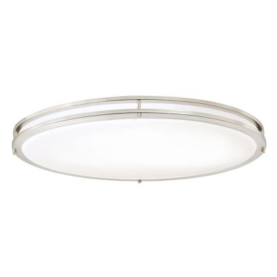 32-1/2-Inch Oval Dimmable LED Indoor Flush Mount Ceiling Fixture, ENERGY STAR