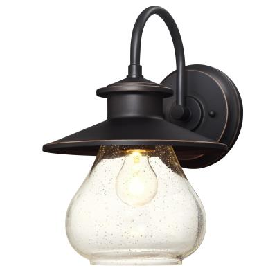 Delmont One-Light Outdoor Wall Fixture