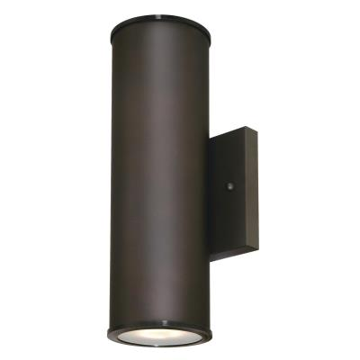 Mayslick Two-Light LED Up and Down Light Outdoor Wall Fixture