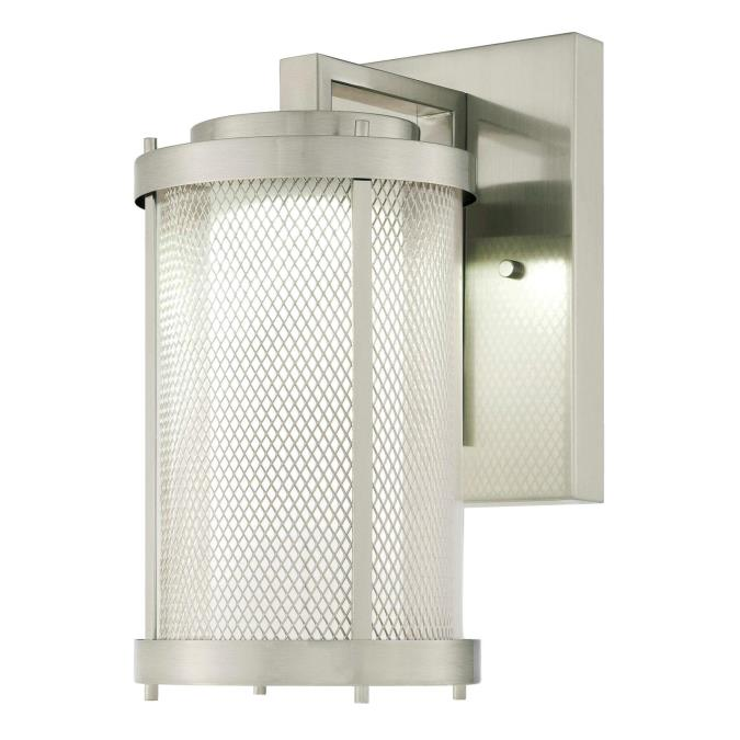 Westinghouse Skyview One-Light LED Outdoor Wall Fixture, Brushed ...