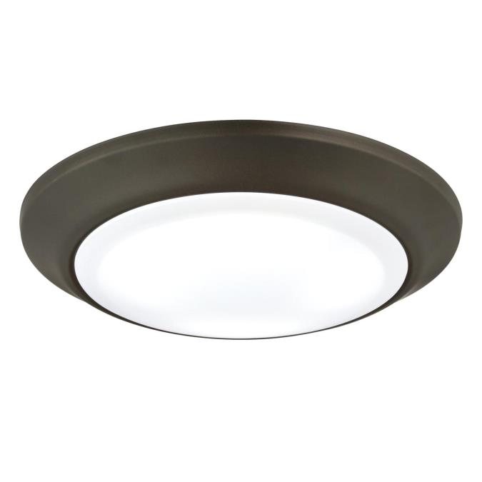 Led Light Fixtures Damp Location: Westinghouse Large LED Indoor/Outdoor Surface Mount
