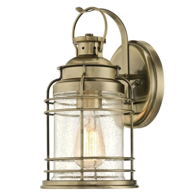 Westinghouse kellen one light outdoor wall fixture antique brass finish kellen one light outdoor wall fixture workwithnaturefo