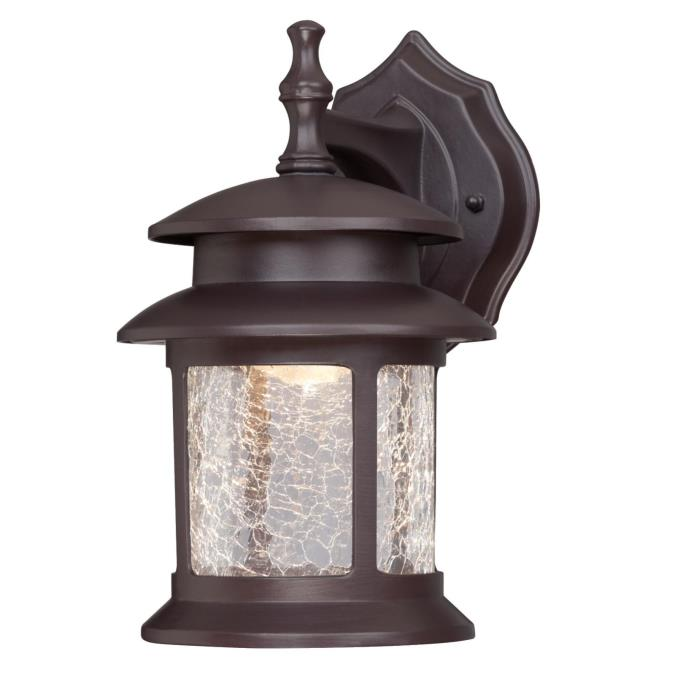 Wall Lantern Led : Westinghouse One-Light LED Outdoor Wall Fixture, Oil Rubbed Bronze Finish