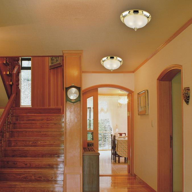 Westinghouse Two Light Flush Mount Interior Ceiling Fixture