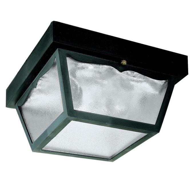Westinghouse Two Light Flush Mount Exterior Fixture