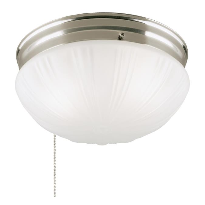 Pendant Light Fixture With Pull Chain: Westinghouse Two-Light Flush-Mount Interior Ceiling Fixture