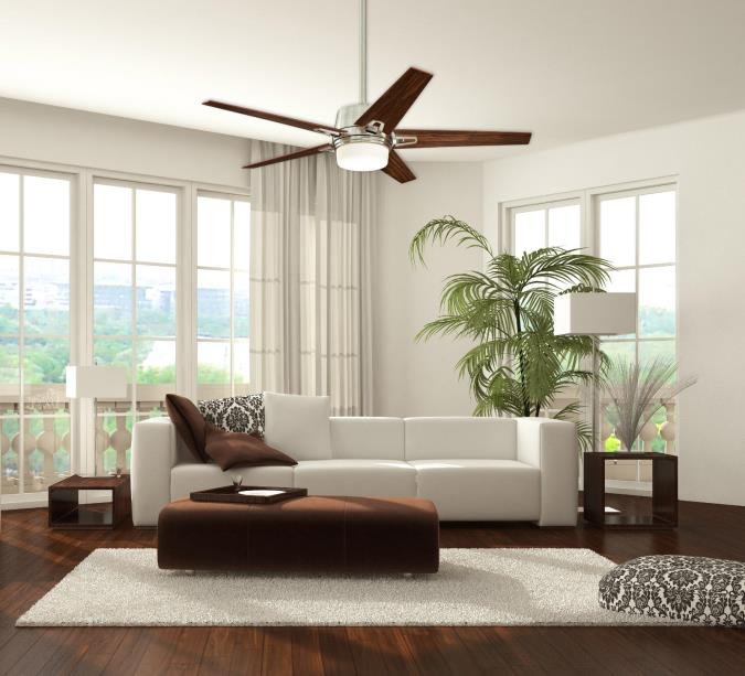 Westinghouse zephyr 56 inch reversible five blade indoor ceiling fan zephyr 56 inch indoor ceiling fan with dimmable led light kit brushed nickel aloadofball Choice Image