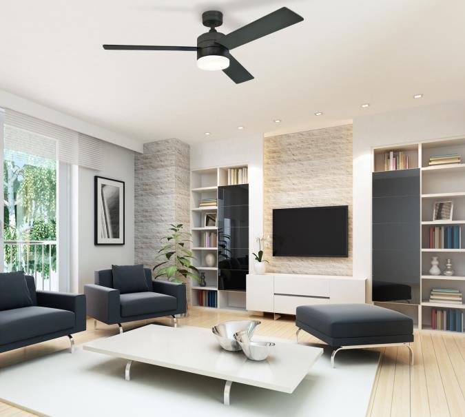 westinghouse alta vista 52-inch reversible three-blade indoor Black Ceiling Fan