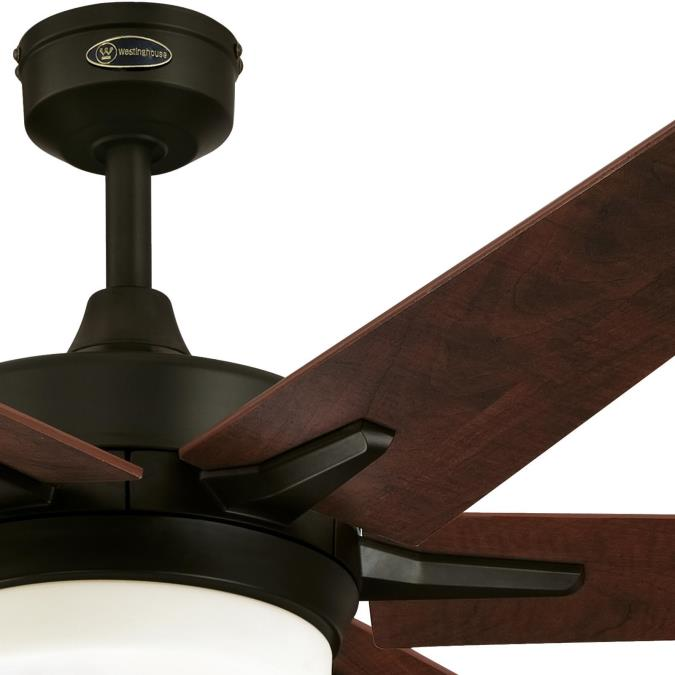 Cayuga 60 Inch Indoor Ceiling Fan With Dimmable Led Light Kit Oil Rubbed Bronze