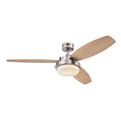 Alloy LED 52-Inch Indoor Ceiling Fan with LED Light Kit