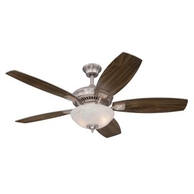 Tulsa LED 52-Inch Indoor Ceiling Fan with LED Light Kit