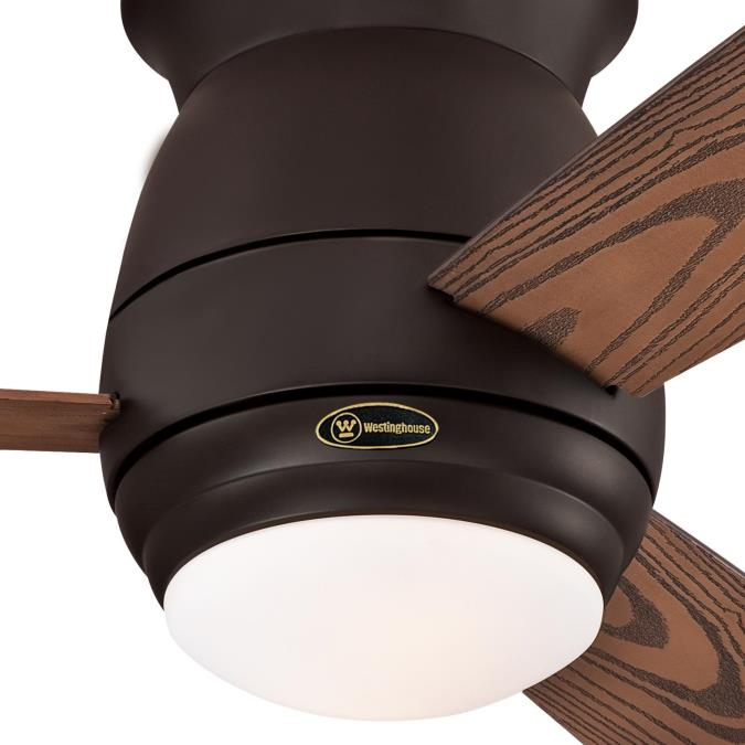 Westinghouse Halley 44 Inch Three Blade Indoor Outdoor Ceiling Fan Oil Rubbed Bronze Finish With Di