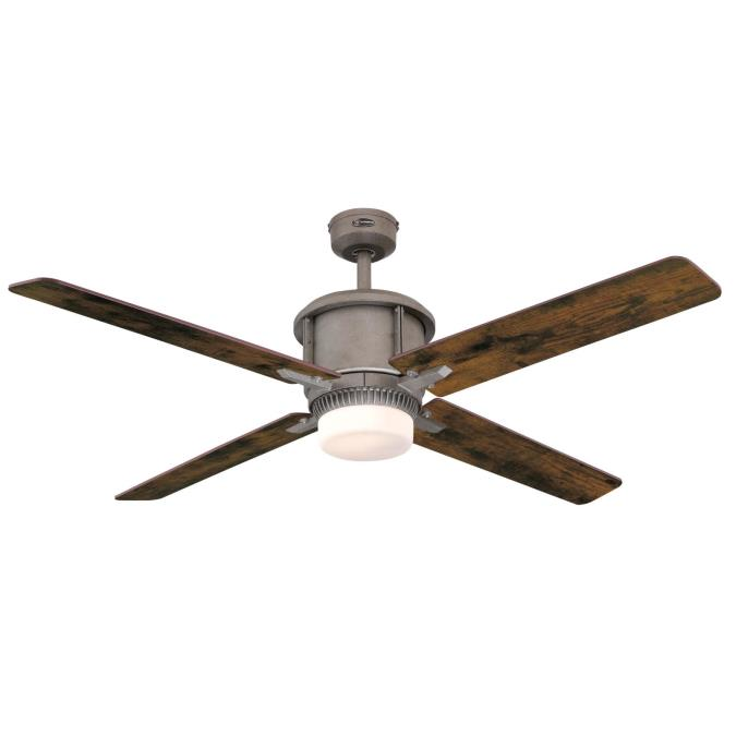 Cliff 56 Inch Indoor Ceiling Fan With Dimmable Led Light Kit