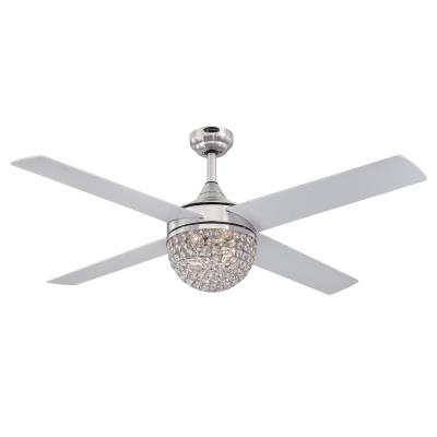 Kelcie 52-Inch Indoor Ceiling Fan with Dimmable LED Light Kit