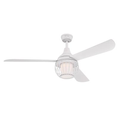 Graham 52-Inch Indoor Ceiling Fan with Dimmable LED Light Kit