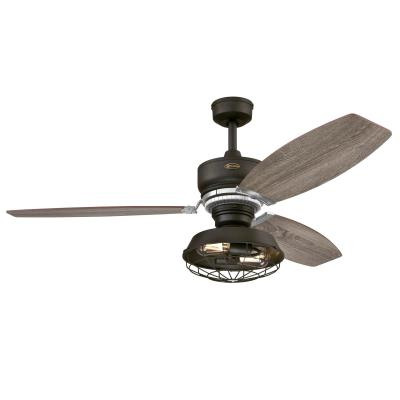 Thurlow LED 54-Inch Indoor Ceiling Fan with Dimmable LED Light Fixture