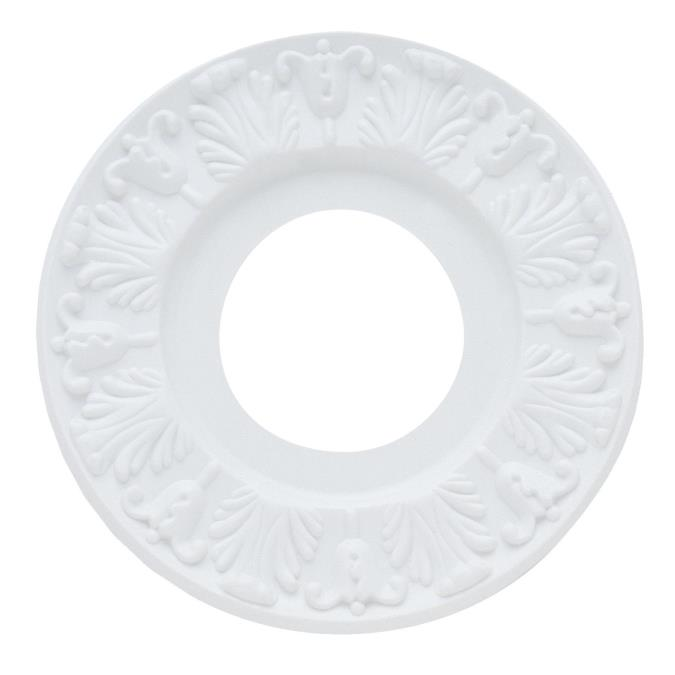 Westinghouse Victorian White Finish Ceiling Medallion