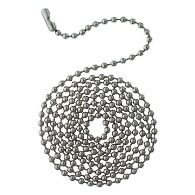 westinghouse stainless steel beaded chain with connector
